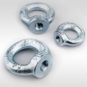 M6 Ringmuttern - Augenmuttern DIN 582 - WLL 0,09t - 90kg