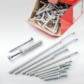 8 x 140mm Nageldübel Schlagdübel Einschlagdübel Senkkopf Dübel 100 bis 1000 Stück