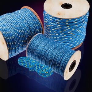 3mm Polypropylenseil blau 600m - PP Seil Polypropylen