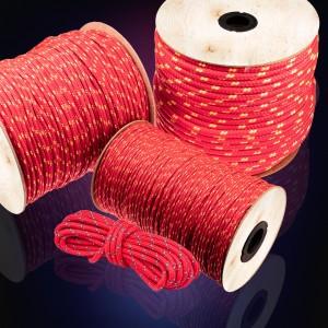 3mm Polypropylenseil rot 600m - PP Seil Polypropylen