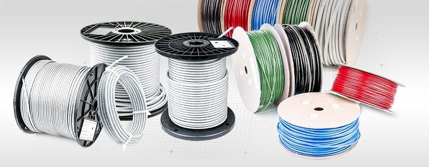 Stahlseil mit PVC Ummantelung