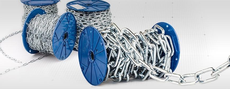 Stahlkette Langgliedrig DIN 5685C